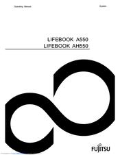 Fujitsu LIFEBOOK A550 Manuals