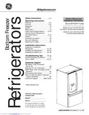 Ge GFE29HSDSS Manuals