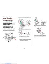 Lexmark W850 Manuals