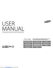 Samsung ST72 Manuals