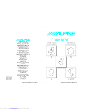 Alpine HVS-HF01 SMART MAP PRO Manuals