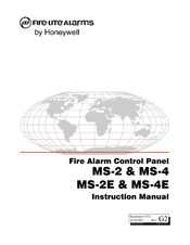 Fire-lite MS-4 Manuals