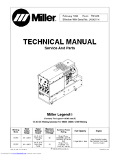 Miller Electric AEAD-200LE Manuals