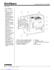 Compaq AlphaStation XP1000 Specification (16 pages)