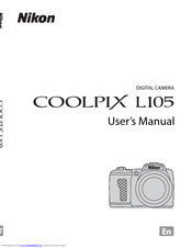 Nikon COOLPIX L105 Manuals