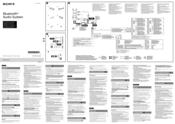 Sony MEXBT3100U Manuals
