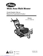 Ariens 911410-WAW 34 Manuals
