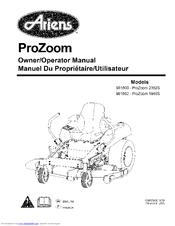 Ariens 991802-ProZoom 1948S Manuals