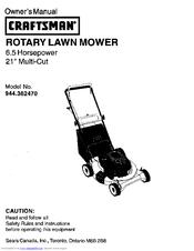 Craftsman 944.362470 Manuals