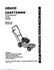 Craftsman 536.797460 Manuals