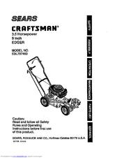 Craftsman 536.797460 Manuals