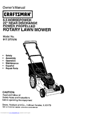 Craftsman 917.377576 Manuals