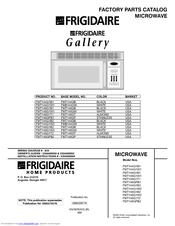 Electrolux Frigidaire FMT148GPB1 Manuals