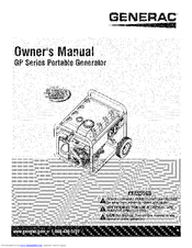 Generac Power Systems GP Series Manuals