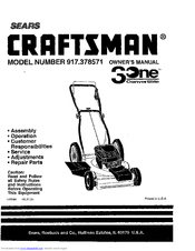 Craftsman 917.378571 Manuals