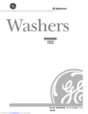 Ge Spacemaker WSKS2060 Manuals