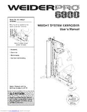 Weider Pro 6900 Manuals