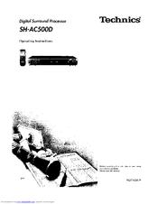 Technics SH-AC500D Manuals