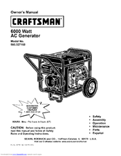 Craftsman 580.327160 Manuals