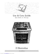 Electrolux Electric Slide-In Range Manuals