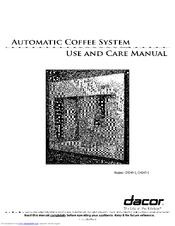 Dacor CM24P-1 Manuals