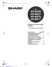 Sharp AR-M236 Manuals