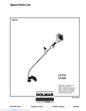 Dolmar LT-210 Manuals