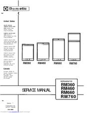 Dometic RM36O Manuals
