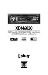 Dual XDM6820 Manuals