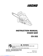 Echo CS-352 Manuals