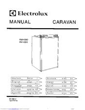 Electrolux CARAVAN RM 4360 Manuals