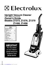 Electrolux Z1373 Manuals