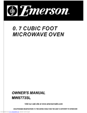 Emerson MW8773SL Manuals