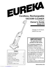 Eureka 570 Manuals