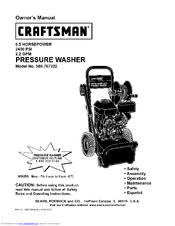 Craftsman 580.767302 Manuals