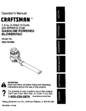 Craftsman 358.797290 Manuals