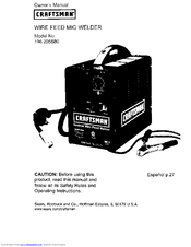 Craftsman 196.205680 Manuals