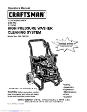 Craftsman 580.768350 Manuals