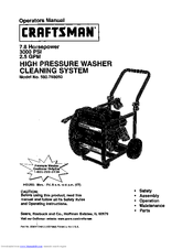Craftsman 580.768050 Manuals