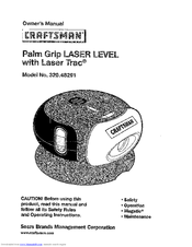 CRAFTSMAN 320.48291 Owner's Manual (16 pages)