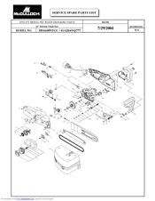 Mcculloch MS1640NTCC Manuals