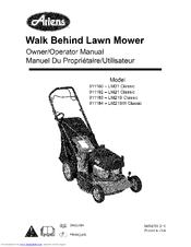 ARIENS 911183-LM21S Classic Owner's Manual