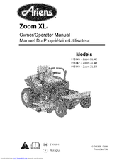 Ariens 915145-Zoom XL 42 Manuals