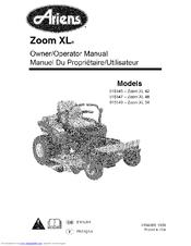 Ariens 915145-Zoom XL 42 Manuals