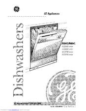 Ge Nautilus GSD3700 series Manuals
