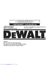 Dewalt D55146 Manuals