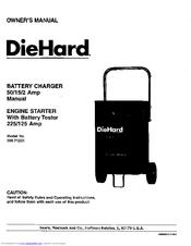 Diehard 200.71231 Manuals