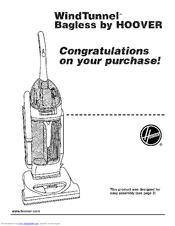Hoover WindTunnel U5750-900 Manuals