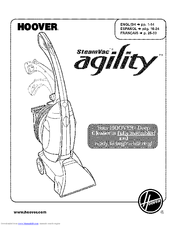 Hoover SteamVac aqility Manuals