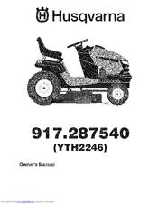 Husqvarna 917.287540 Manuals